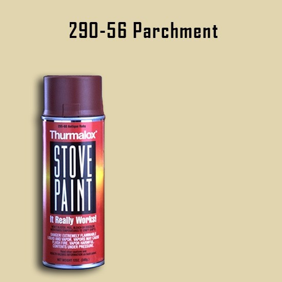 Heat Resistant Paint Colors  - Thurmalox Parchment High Temperature Stove Paint - 12 oz. Aerosol Spray Can