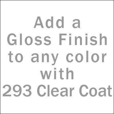 Smoker Paint Colors  - Clear Gloss Stove Paint