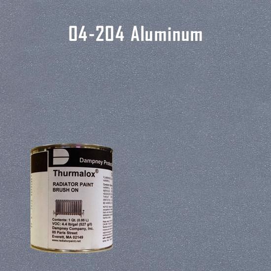 High Temperature Radiator Paint Colors  - Thurmalox 200 Series  Aluminum Radiator Paint - Quart Can