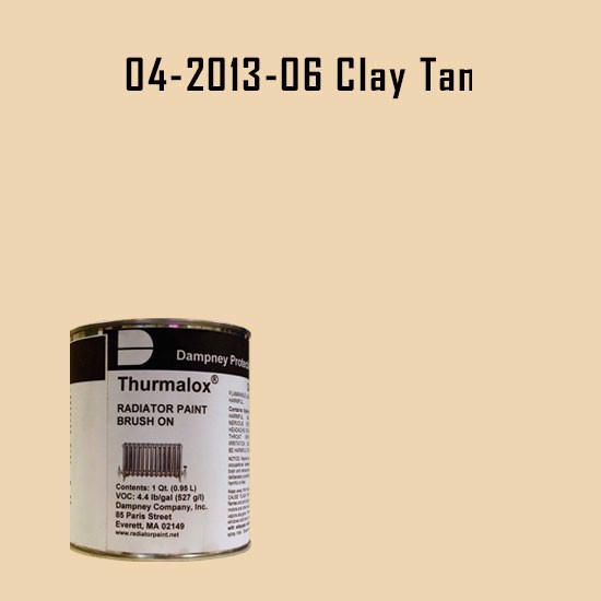 High Temperature Radiator Paint Colors  - Thurmalox® 200 Series Clay Tan Radiator Paint - 1 Quart Can