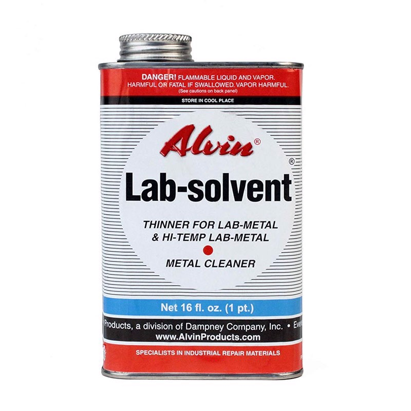 metal repair putty - METAL CLEANER and THINNER needed for Lab-metal and Hi-Temp Lab-metal