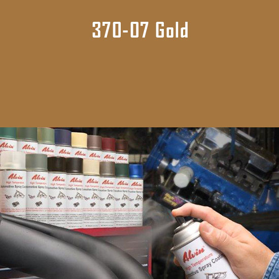 Gold High Temperature Spray Paint