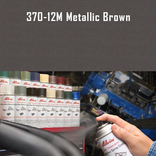 Metallic Brown High Temperature Spray Paint