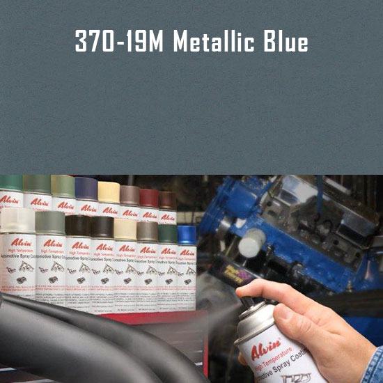 Metallic Blue High Temperature Spray Paint
