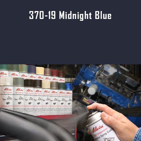 Midnight Blue High Temperature Spray Paint