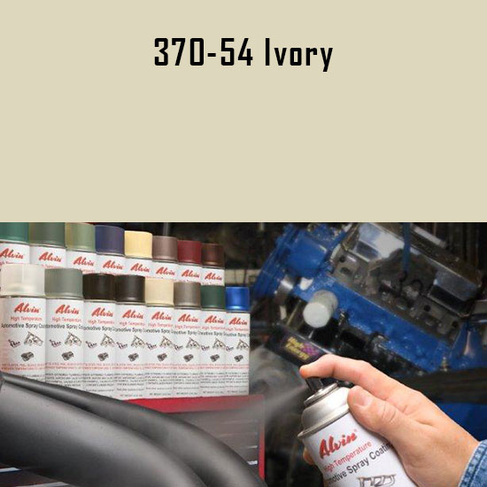 Ivory High Temperature Spray Paint
