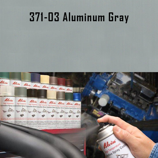 Aluminum Gray High Temperature Spray Paint
