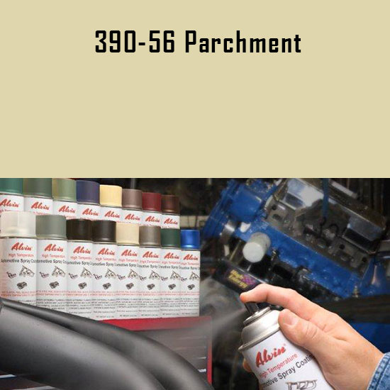 Parchment High Temperature Spray Paint