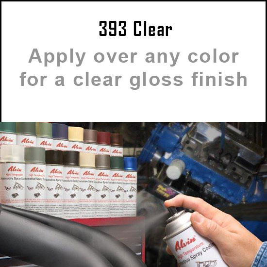Clear High Temperature Spray Paint