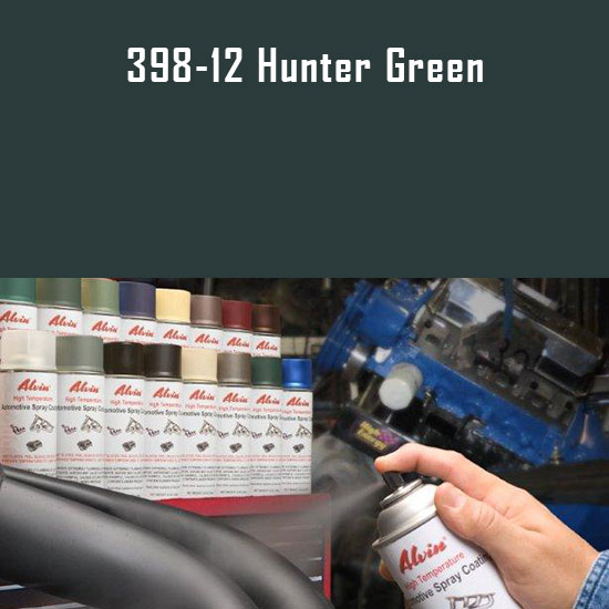 Hunter Green High Temperature Spray Paint
