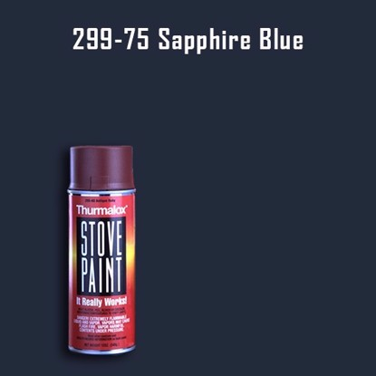Thurmalox Sapphire Blue High Temperature Stove Paint - 12 oz. Aerosol Spray Can