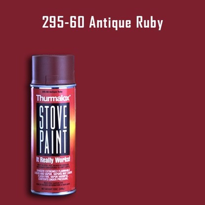 Thurmalox Antique Ruby Wood Stove Paint - 12 oz. Aerosol Spray Can