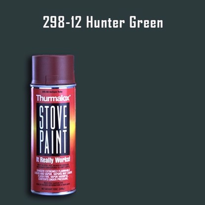 Thurmalox Hunter Green Wood Stove Paint - 12 oz. Aerosol Spray Can