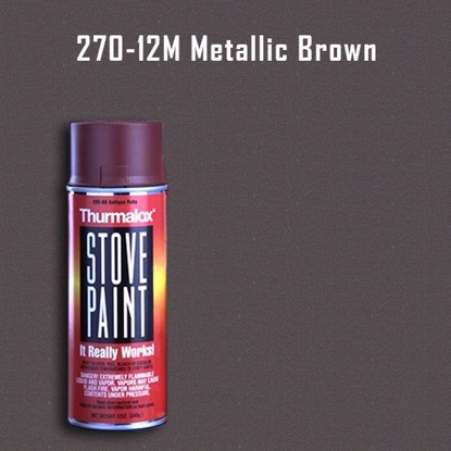 Thurmalox Metallic Brown Stove Paint - 12 oz. Aerosol Spray Can