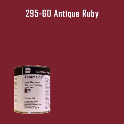 Thurmalox Antique Ruby High Temperature Stove Paint - 1 Quart Can