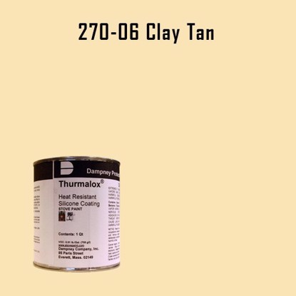 Thurmalox Clay Tan High Temperature Stove Paint - 1 Quart Can