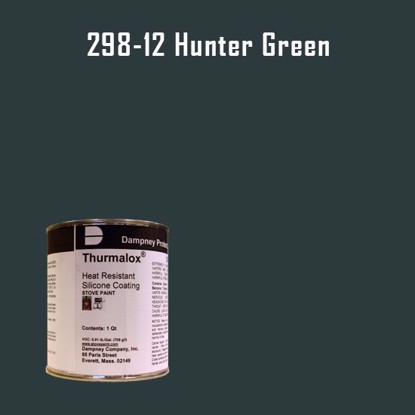 Thurmalox Hunter Green High Temperature Stove Paint - 1 Quart Can