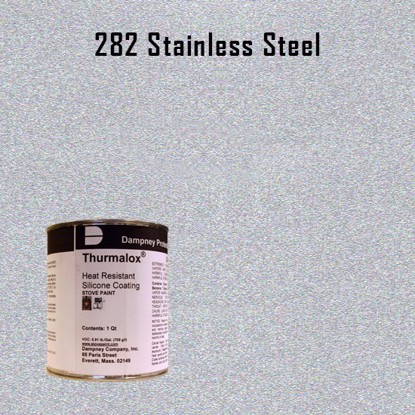 Thurmalox Stainless Steel High Temperature Stove Paint - 1 Quart Can