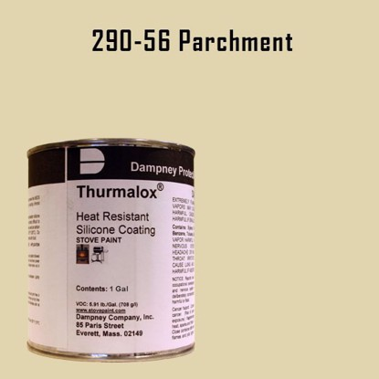 Thurmalox Parchment High Temperature Stove Paint - 1 Gallon Can