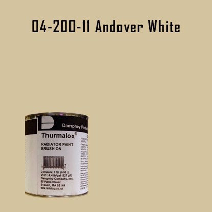 Thurmalox® 200 Series  Andover White Radiator Paint - 1 Quart Can