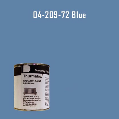 Thurmalox® 200 Series  Blue Radiator Paint - 1 Quart Can