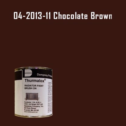 Thurmalox® 200 Series Chocolate Brown Radiator Paint - 1 Quart Can