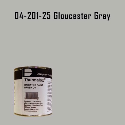 Thurmalox® 200 Series Gloucester Gray Radiator Paint - 1 Quart Can