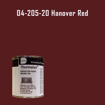 Thurmalox® 200 Series Hanover Red Radiator Paint - 1 Quart Can