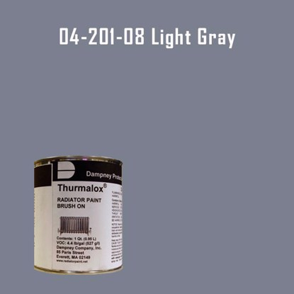 Thurmalox® 200 Series Light Gray Radiator Paint - 1 Quart Can