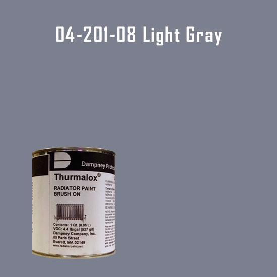 Thurmalox® 200 Series Light Gray Radiator Paint - 1 Quart Can