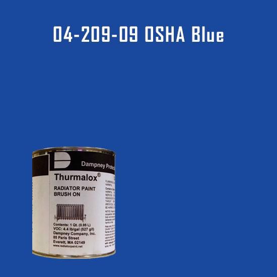 Thurmalox® 200 Series OSHA Blue Radiator Paint - 1 Quart Can