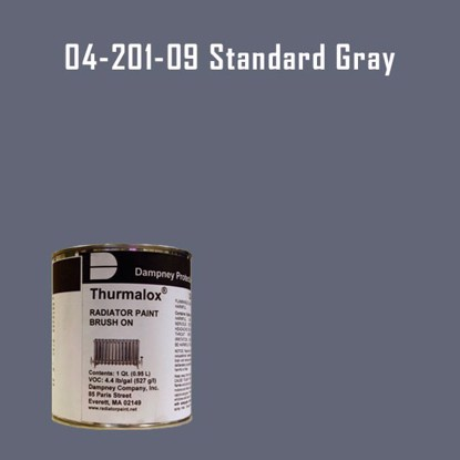 Thurmalox® 200 Series Standard Gray Radiator Paint - 1 Quart Can