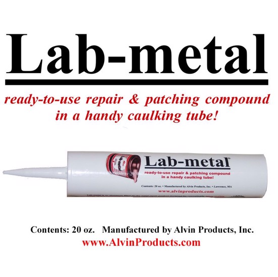 Lab-metal (20 oz. Caulking Tube)
