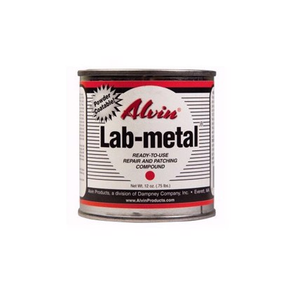 Ready-to-use metal repair putty, dent filler and patching compound