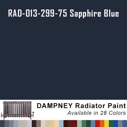 Thurmalox® 200 Series Sapphire Blue Radiator Paint - 12 Oz Aerosol Can